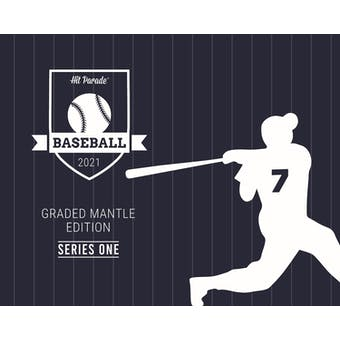 2021 Hit Parade Graded Mantle Edition - Series 1 - Hobby Box Mantle-Mantle-Mantle
