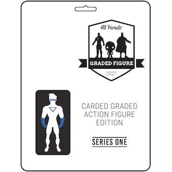 2021 Hit Parade Carded Graded Action Figure Edition - Series 2 - AFA GI JOE, MOTU, MARVEL & MORE!