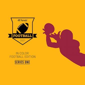 2020 Hit Parade In Color Football Edition- Series 1 Hobby Box /100 Herbert-Burrow-Tua (SHIPS 5/07)