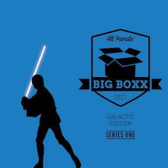 2021 Hit Parade Star Wars BIG BOXX Galactic Edition - Series 1 - Peter Mayhew, Jeremy Bulloch Autos!