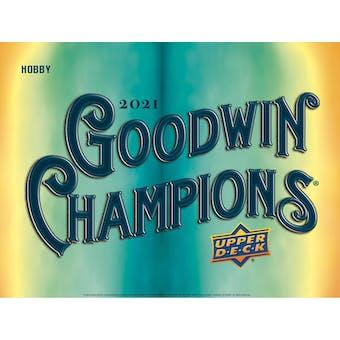 2021 Upper Deck Goodwin Champions Hobby Box (Presell)