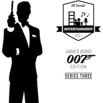 2021 Hit Parade James Bond 007 Edition Hobby Box - Series 3 - Roger Moore & Daniel Craig Autos!