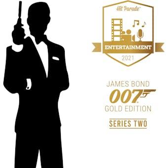 2021 Hit Parade James Bond 007 Gold Ed Series 2 - 10-Box Case - 2021 National 10 Spot Random Box Break #1