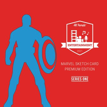 2021 Hit Parade Marvel Sketch Card Premium Ed Ser 1 - 10-Box Case - DACW Live 10 Spot Random Box Break #1