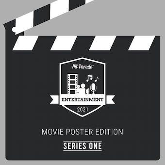 2021 Hit Parade Movie Poster Edition Hobby Box - Series 1 - Sylvester Stallone & Michael Keaton Autos!