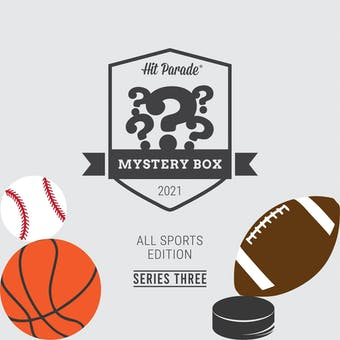 2021 Hit Parade All Sports Mystery Box Hobby Box Series 3 - Buster Douglas, Canseco, Eichel, Calipari Autos!