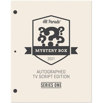 2021 Hit Parade Autographed TV Script Edition - Series 1 - Seinfeld Dual Autographed Script!
