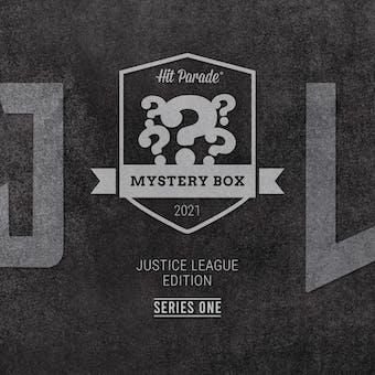 2021 Hit Parade Justice League Mystery Box Hobby Box - Series 1 - Henry Cavill, Gal Gadot & Jason Momoa Autos!
