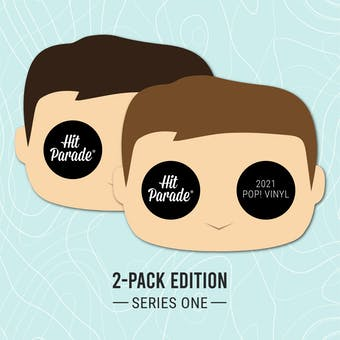 2021 Hit Parade POP Vinyl 2-Pack Edition- Series 1- 2-box- DACW Live 10 Spot Random Number Break #1
