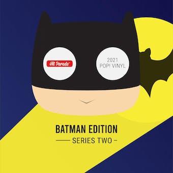 2021 Hit Parade POP Vinyl The Batman Edition Hobby Box - Series 2 - Margot Robbie & Kevin Conroy Autos!