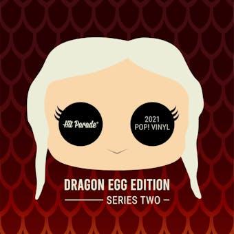 2021 Hit Parade POP Vinyl Dragon Egg Edition Hobby Box - Series 2 - Pedro Pascal & Alfie Allen Autos!!