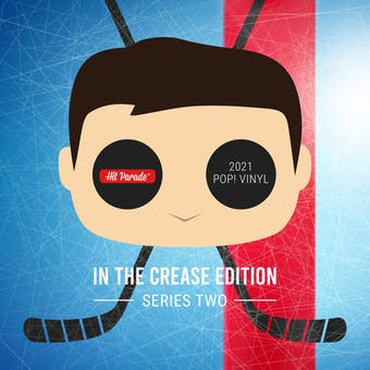 2021 Hit Parade POP Vinyl In The Crease Edition Hobby Box - Series 2 - Crosby & Lundqvist Autos!!