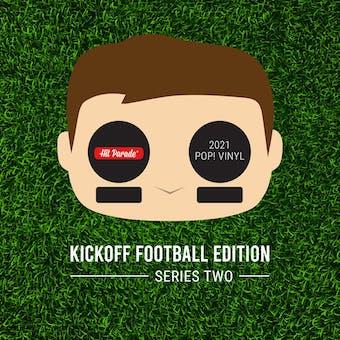 2021 Hit Parade POP Vinyl Kickoff Football Edition Hobby Box - Series 2 - Joe Montana & Nick Cubb Autos!