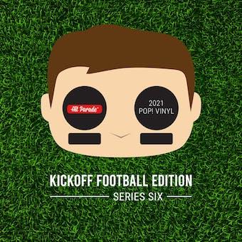 2021 Hit Parade POP Vinyl Kickoff Football Edition Hobby Box - Series 6 -  Drew Brees Auto!