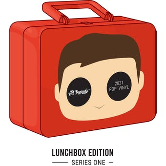 2021 Hit Parade POP Vinyl Lunchbox Edition - Series 1 - Squire Fridell & Larry Kenny Autos!