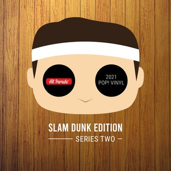 2021 Hit Parade POP Vinyl Slam Dunk Edition Hobby Box - Series 2 - Steph Curry & Magic Johnson Autos!!