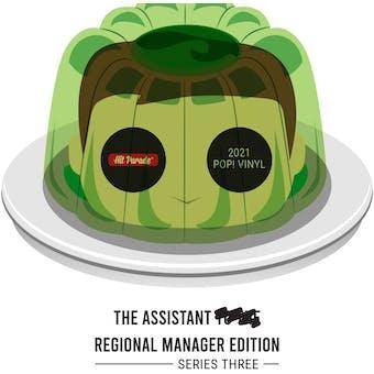 2021 Hit Parade POP Vinyl The Assistant Regional Manager Edition - Series 3 - John Krasinski Auto!