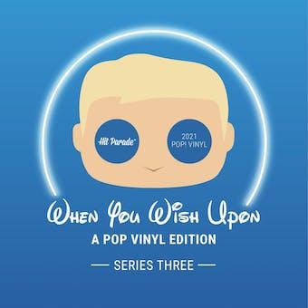 2021 Hit Parade POP Vinyl When You Wish Upon Edition Hobby Box - Series 3 - Floyd Norman & Rolly Crump Autos!