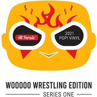 2021 Hit Parade POP Vinyl WOOOOO Wrestling Ed Series 1 - 2-box- DACW Live 10 Spot Random Number Break #1