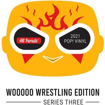 2021 Hit Parade POP Vinyl WOOOOO Wrestling Edition - Series 3 - The Rock Dwayne Johnson Auto!