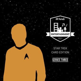 2021 Hit Parade Star Trek Card Edition Hobby Box - Series 3 - William Shatner & Brent Spiner Autos!