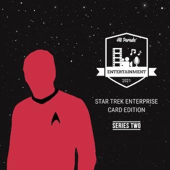2021 Hit Parade Star Trek Enterprise Card Edition Hobby Box - Series 2 - Leonard Nimoy Autograph!