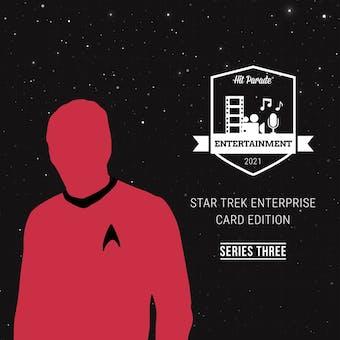 2021 Hit Parade Star Trek Enterprise Card Ed Series 3 - 10-Box Case - 2021 National 10 Spot Random Box Break 1