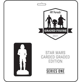 2021 Hit Parade Star Wars Carded Graded Figure Ed Series 1 - 2-Box - 2021 National 8 Spot Random Spot Break 1