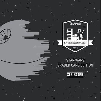 2021 Hit Parade Star Wars Graded Card Edition Hobby Box - Series 1 - Jeremy Bulloch & Kenny Baker Autos!!