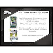 2021 Topps MLS Major League Soccer Hobby Box (Presell)