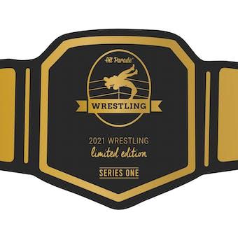 2021 Hit Parade Wrestling Limited Edition - Series 1 - Hobby Box /100 Undetaker - Hulk Hogan