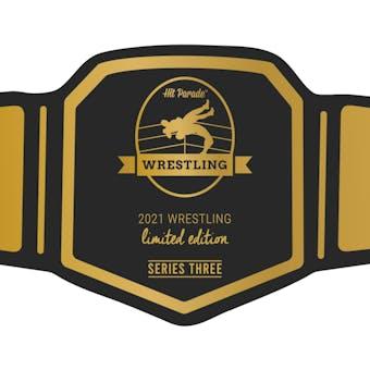 2021 Hit Parade Wrestling Limited Edition - Series 3 - Hobby Box /100 Hogan-Piper-Cena