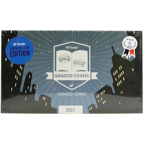 2021 Hit Parade Fantastic Four Graded Comic Ed 1-Box Series 1- DACW Live 5 Spot Break #3