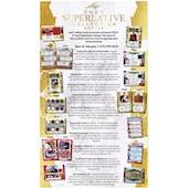 2021 Leaf Superlative Collection Hockey Hobby Box (Presell)