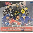 Image for  2020/21 Topps NHL Hockey Sticker Collection Box