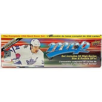 2020/21 Upper Deck MVP Hockey Box Set