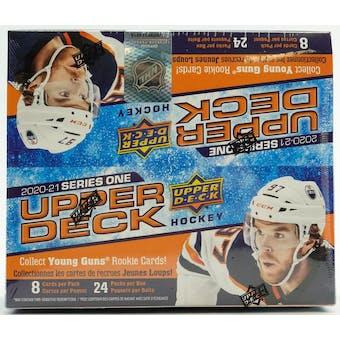 2020/21 Upper Deck Series 1 Hockey 24-Pack Box
