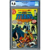 New Teen Titans #2 CGC 9.8 (W) *2022013002*