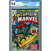 Captain Marvel #52 CGC 9.8 (W) *2022521025*