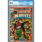 Captain Marvel #49 CGC 9.6 (W) *2022522002*