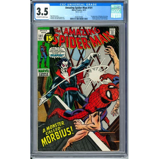 Amazing Spider-Man #101 CGC 3.5 (OW-W) *2026161005*