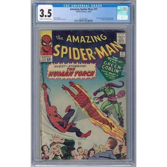 Amazing Spider-Man #17 CGC 3.5 (C-OW) *2026369001*