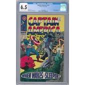 Captain America #101 CGC 6.5 (OW-W) *2026369006*