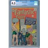 Fantastic Four #9 CGC 4.5 (OW-W) *2026369008*