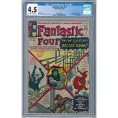 Fantastic Four #17 CGC 4.5 (OW-W) *2026369009*