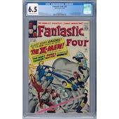 Fantastic Four #28 CGC 6.5 (OW-W) *2026369010*