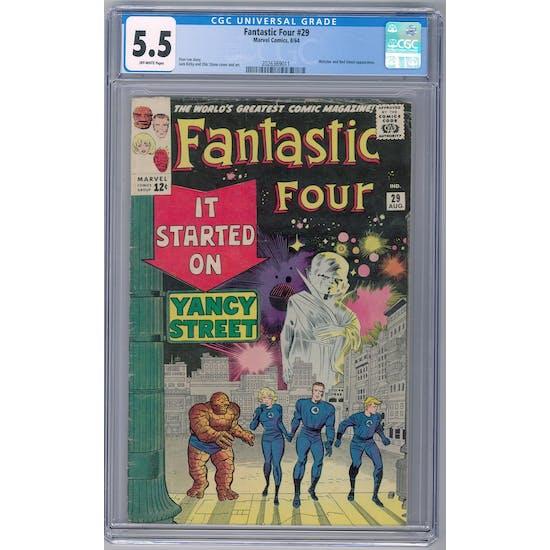 Fantastic Four #29 CGC 5.5 (OW) *2026369011*