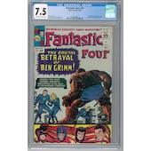 Fantastic Four #41 CGC 7.5 (OW-W) *2026369019*