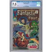 Fantastic Four #65 CGC 7.5 (OW-W) *2026369022*
