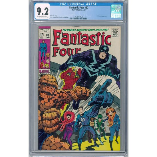 Fantastic Four #82 CGC 9.2 (C-OW) *2026369023*